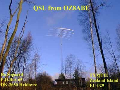 QSL image for OZ8ABE