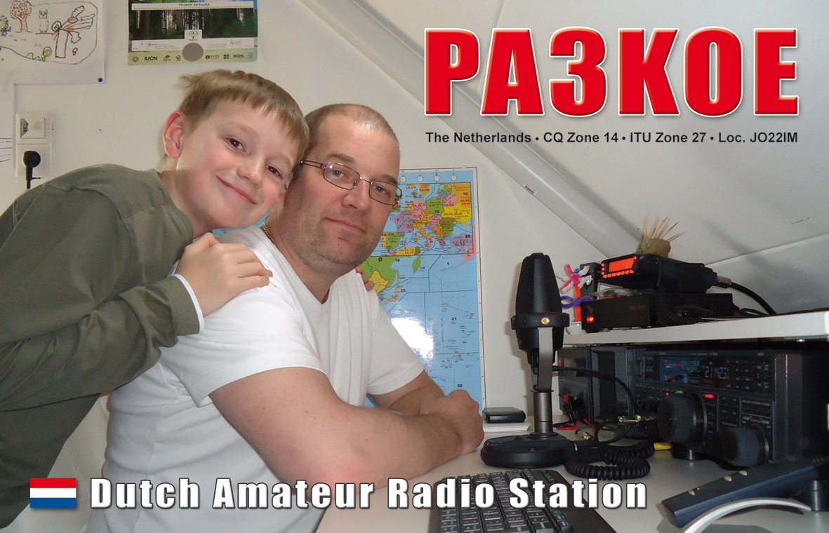 QSL image for PA3KOE