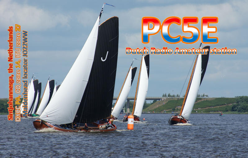 QSL image for PC5E