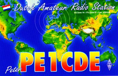 QSL image for PE1CDE