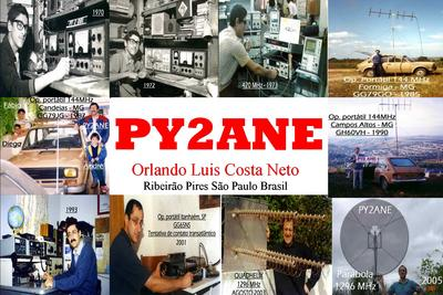 QSL image for PY2ANE