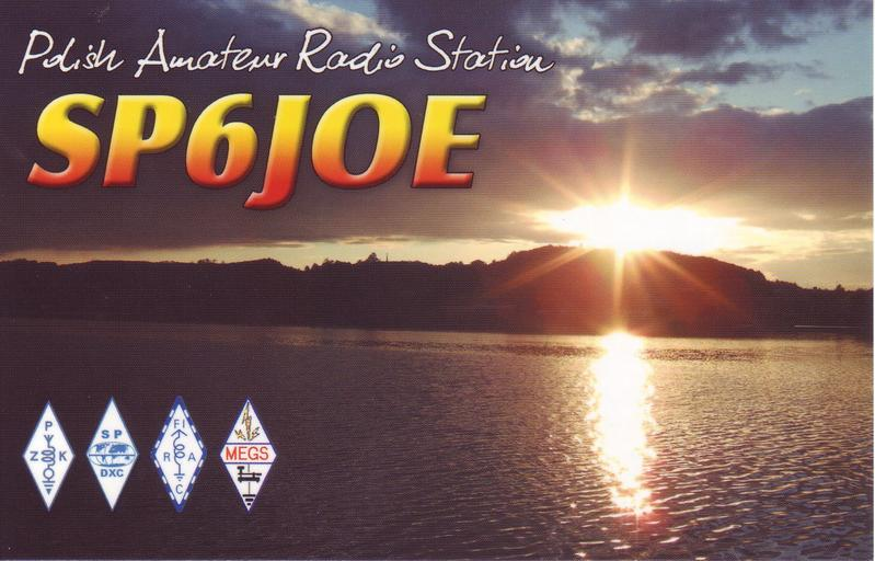 QSL image for SP6JOE