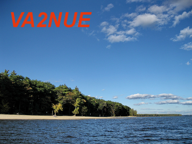 QSL image for VA2NUE