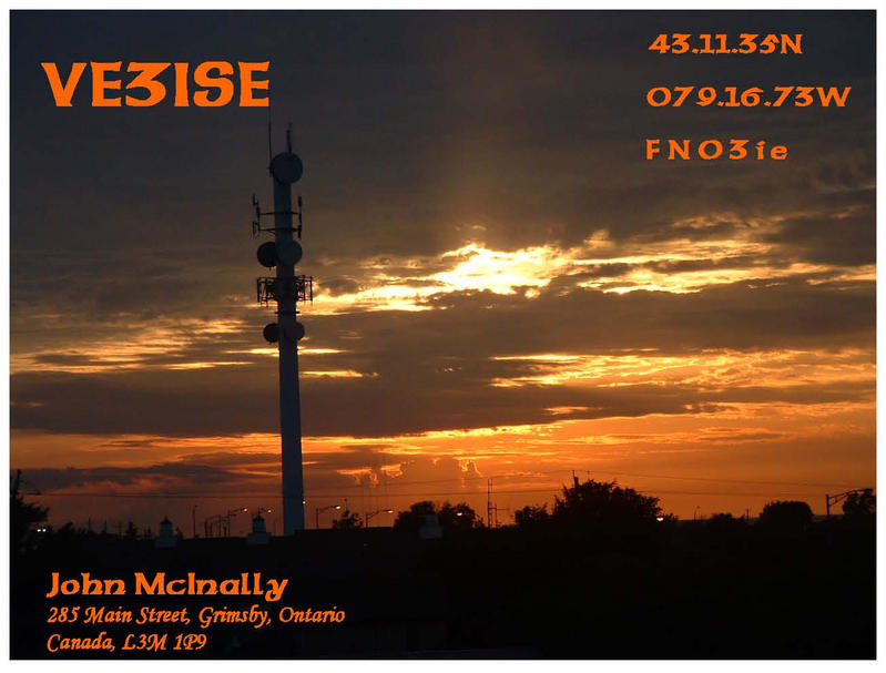 QSL image for VE3ISE