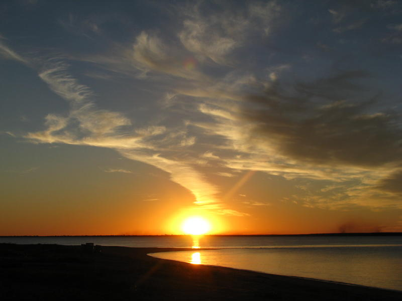 One of our beautiful sunsets...photo by Lee Davies