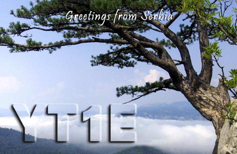 QSL image for YT1E