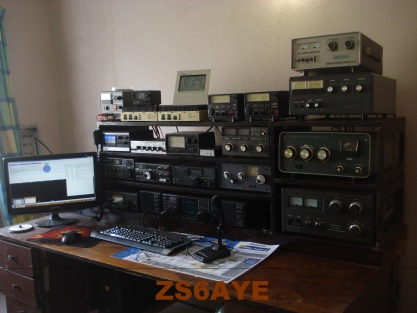 QSL image for ZS6AYE