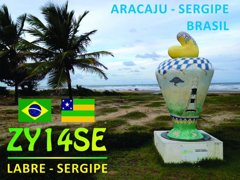 QSL image for ZY14SE
