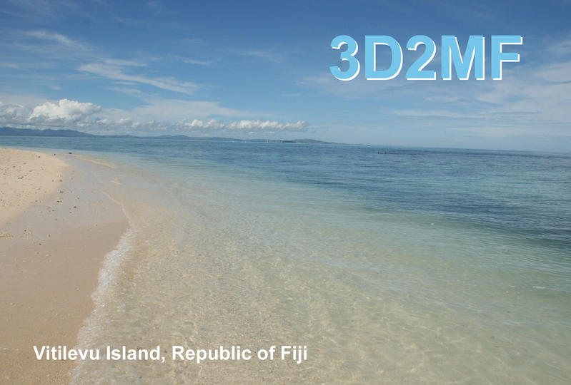 QSL image for 3D2MF