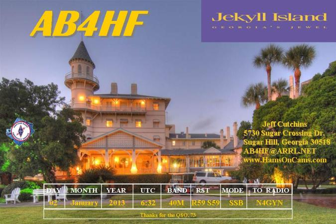 QSL image for AB4HF