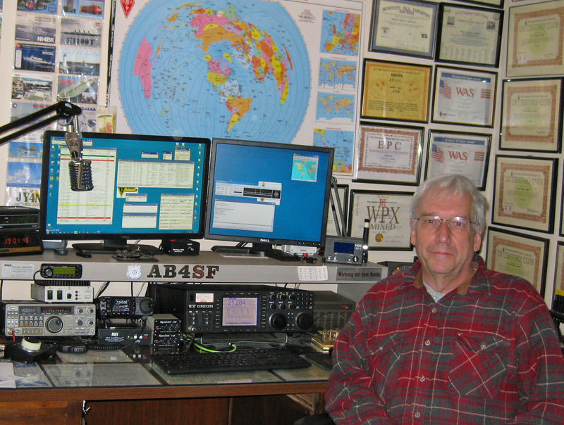 QSL image for AB4SF