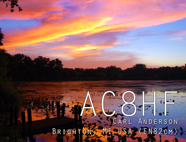 QSL image for AC8HF