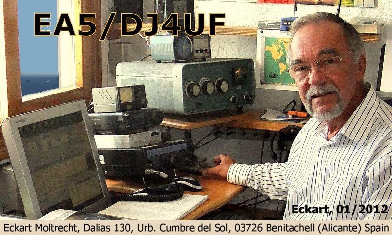 QSL image for DJ4UF