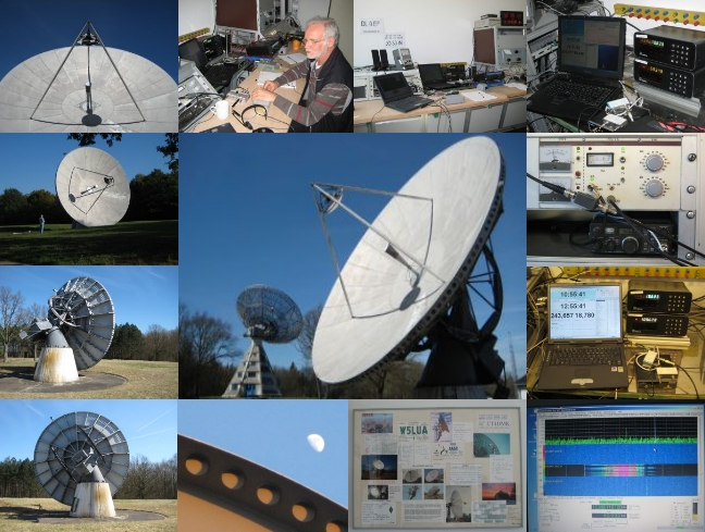 EME with our 10m dish