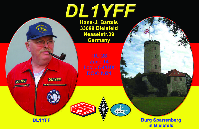 QSL image for DL1YFF