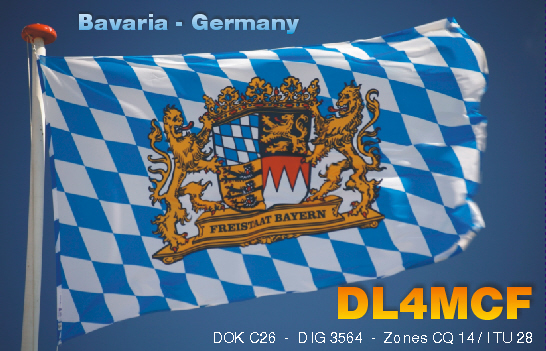 QSL image for DL4MCF