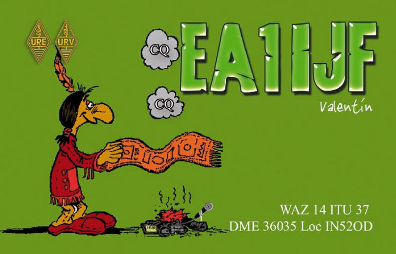 QSL image for EA1IJF