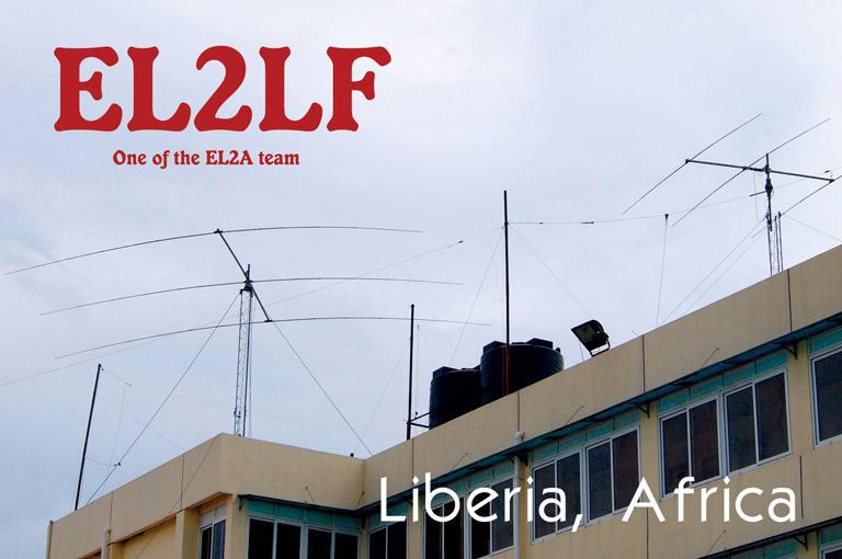 QSL image for EL2LF