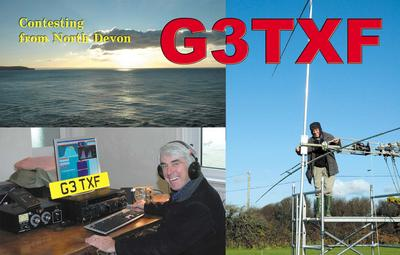 QSL image for G3TXF