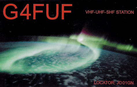 QSL image for G4FUF