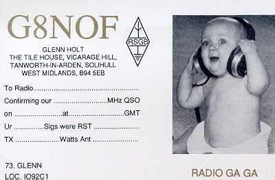 QSL image for G8NOF