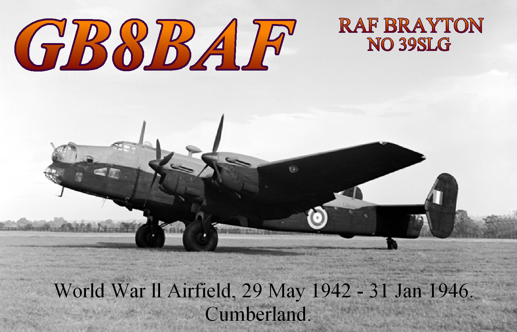QSL image for GB8BAF