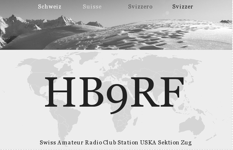QSL image for HB9RF