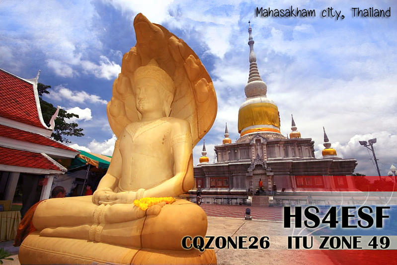 QSL image for HS4ESF