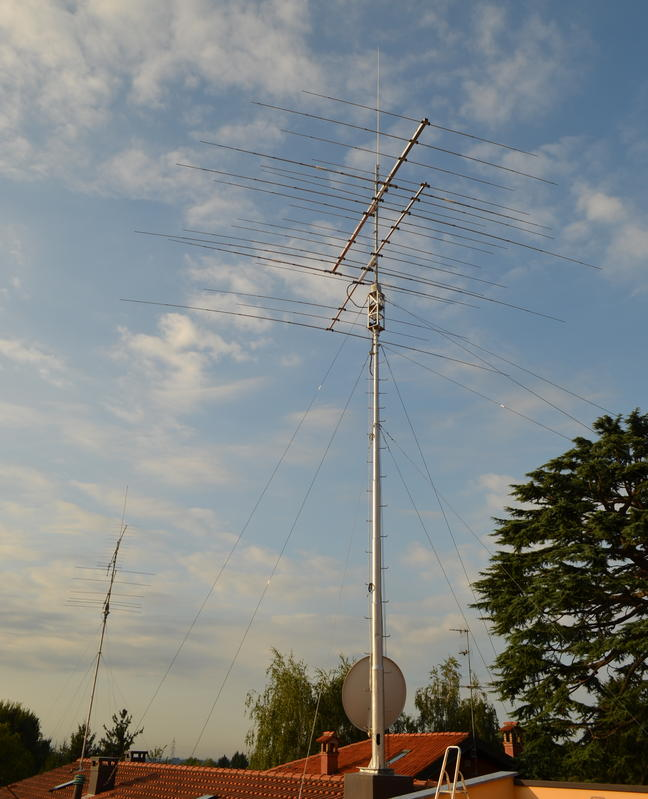 My new antenna setup -2012