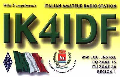 QSL image for IK4IDF