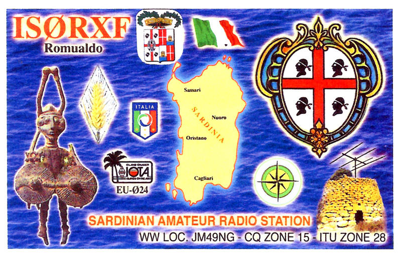 QSL image for IS0RXF