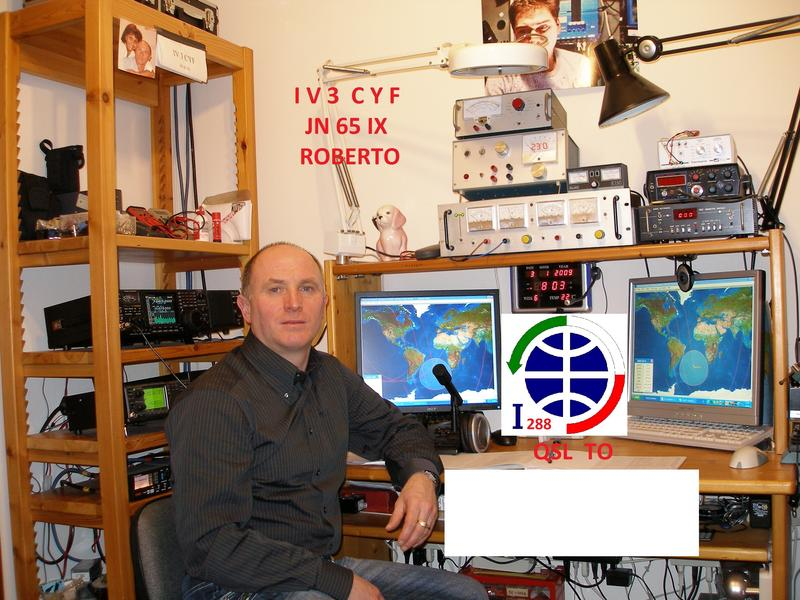 QSL image for IV3CYF