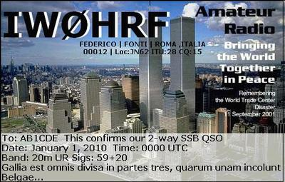 QSL image for IW0HRF