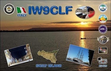 QSL image for IW9CLF