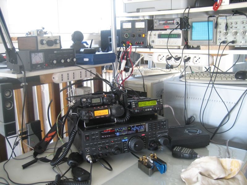 IZ2UUF station equipment