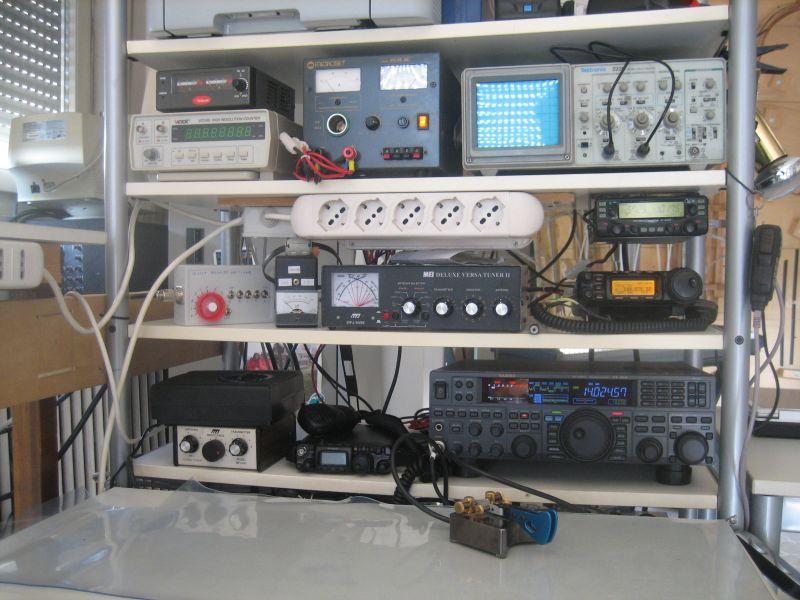 IZ2UUF station equipment