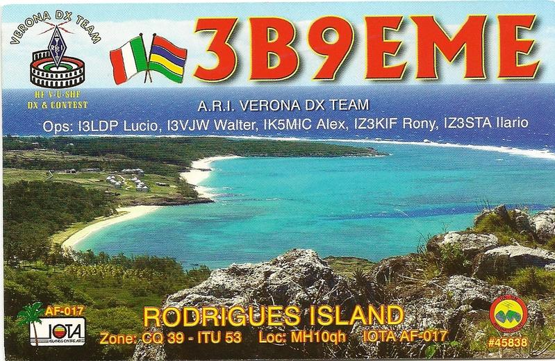 QSL image for IZ3KIF