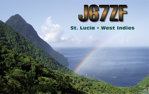 QSL image for J67ZF