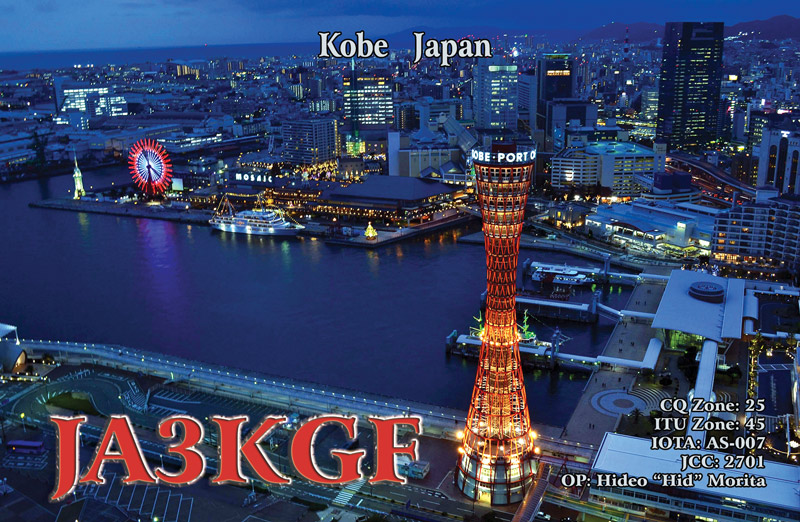 QSL image for JA3KGF