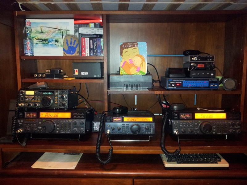 The radios.  the