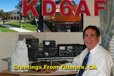 QSL image for KD6AF