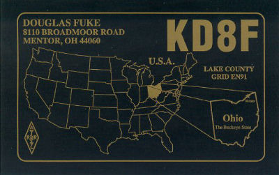QSL image for KD8F