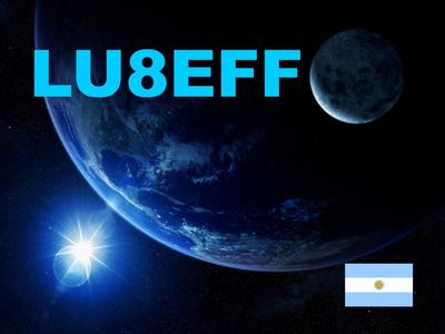 QSL image for LU8EFF