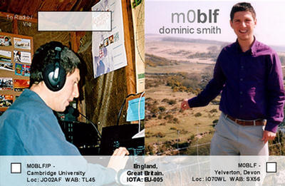QSL image for M0BLF