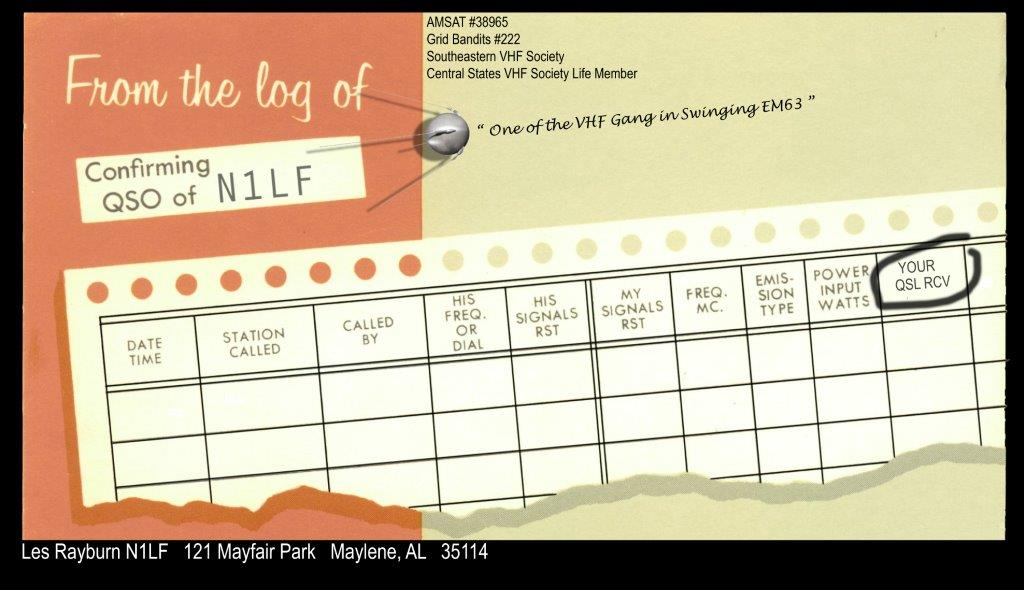 QSL image for N1LF