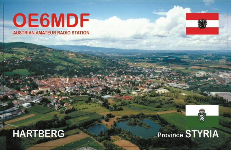 QSL image for OE6MDF