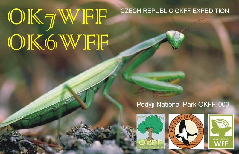 QSL image for OK6WFF