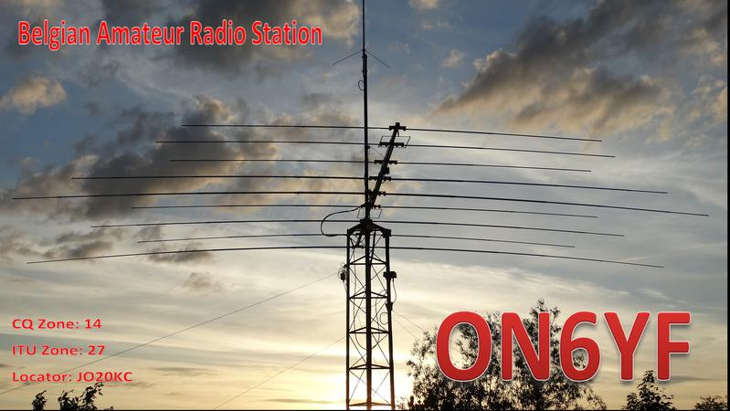 QSL image for ON6YF