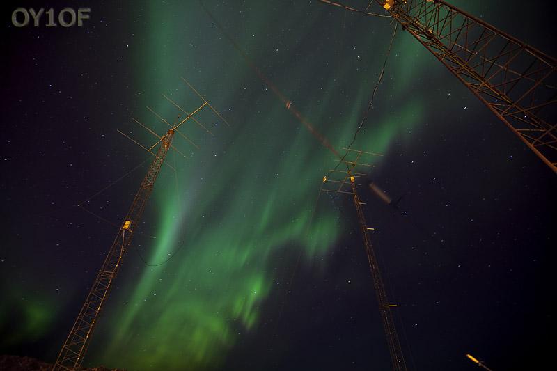 Aurora at OY6FRA