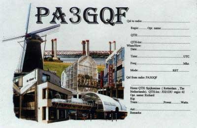 QSL image for PA3GQF